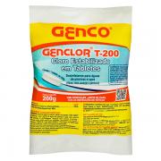 PASTILHA GENCLOR T-200 TABLETES CLORO ESTABILIZADO