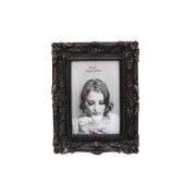 Porta Retrato Decorativo Em Poliresina - 3930 10x15