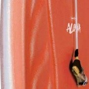 Prancha Bodyboard Aloha 57cm x 35cm - Laranja