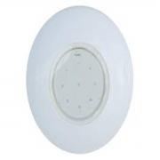 Refletor Branco Tecno Super Led 9 Em ABS Multiuso Pooltec