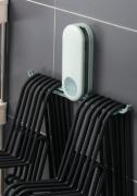 Suporte Cabideiro de Parede Para armazenamento de cabides economiza espaço