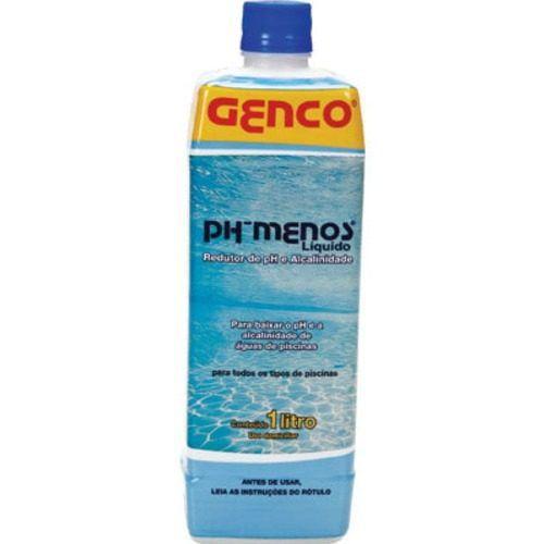 Ph Menos Líquido Redutor De Ph E Alcalinidade 1 L - Genco
