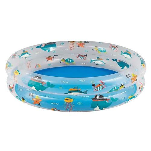 Banheira Estampa Fundo do mar 90 litros