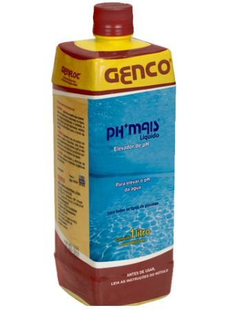 Ph Mais Líquido Elevador De Ph 1l - Genco