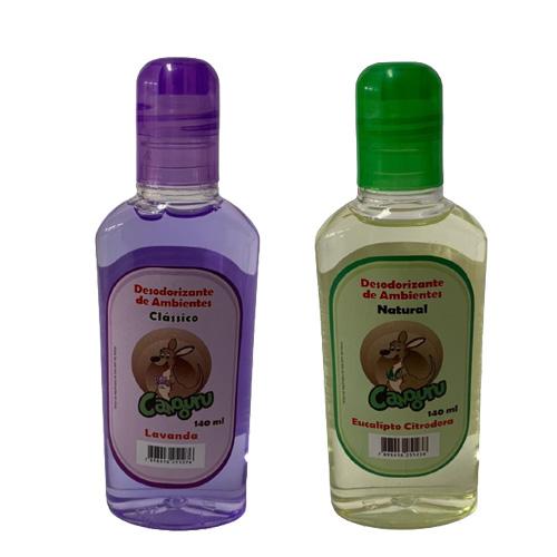 2 Aromatizante Desodorizador de Ambiente - Lavanda e Eucalipto