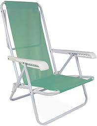2 Cadeiras 8 Posiçoes Anis + 1Mesinha + 1 Guarda Sol Verde
