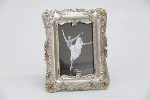 Porta Retrato Decorativo Em Poliresina - 3960 10x15 Cm Anúncio com variação