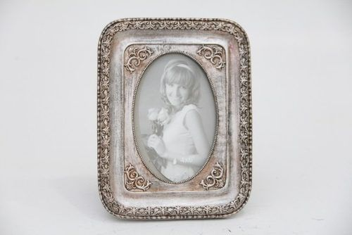 Porta Retrato Decorativo Em Poliresina - 3988