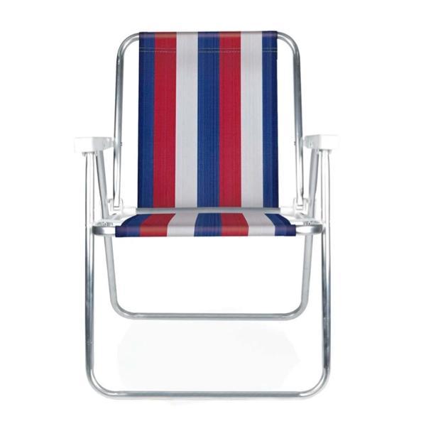 4 Cadeiras Alta em Alumínio  + 1 Mesinha - Mor