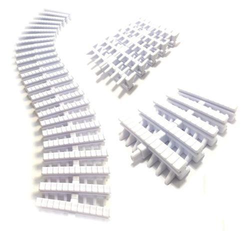 4 Metros Grelha Plastica Flexível 20 Cm - Pooltec