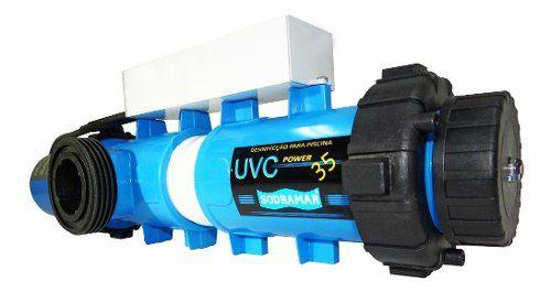 Tratamento Ultra Violeta Suv 18m³/h - Corpo Abs Lâmpada 95 W
