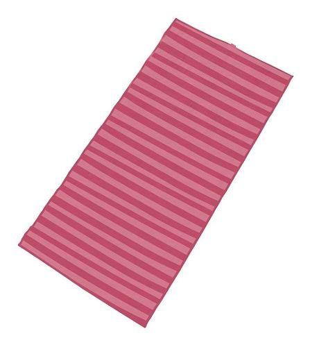 Esteira de Praia Dobrável em Polipropileno 1,80m x 90cm - Pink - Mor