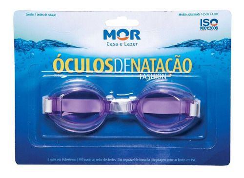 Óculos De Natação Fashion Lilas - Mor