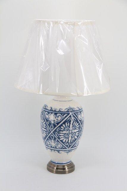 Abajur Decorativo em Vidro 61 x 34 - E1317