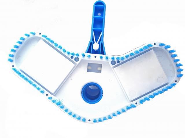 Aspirador Boomerang p/ piscinas de vinil, fibra e alvenaria- Sodramar