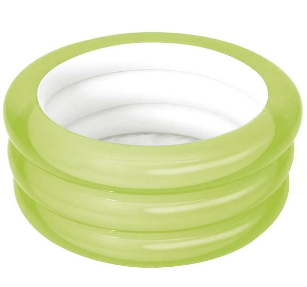 Banheira Inflável 80 Litros - verde - Mor