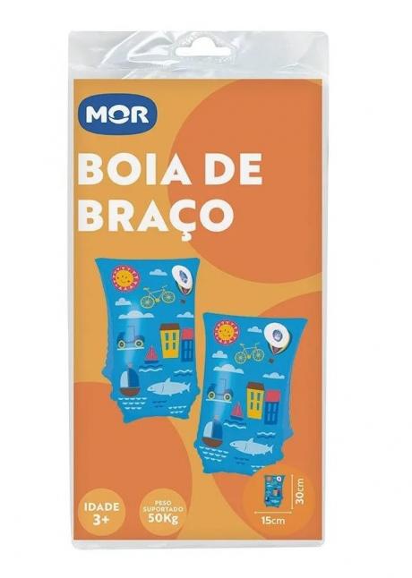 Bóia De Braço 30cm X 15cm Azul - Mor