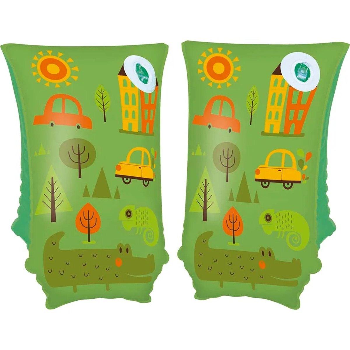 Bóia De Braço 30cm X 15cm Verde - Mor