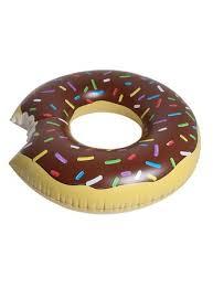 Bóia Donut Chocolate Gigante 1.07m - Mor
