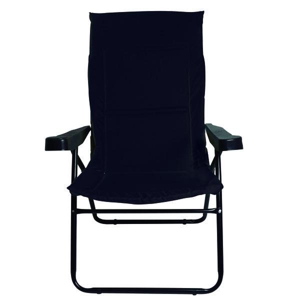 Cadeira Alfa 4 Posições Preta - Mor