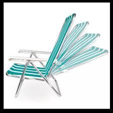 Cadeira de Praia Piscina reclinável 4 Posições em Aço - Mor