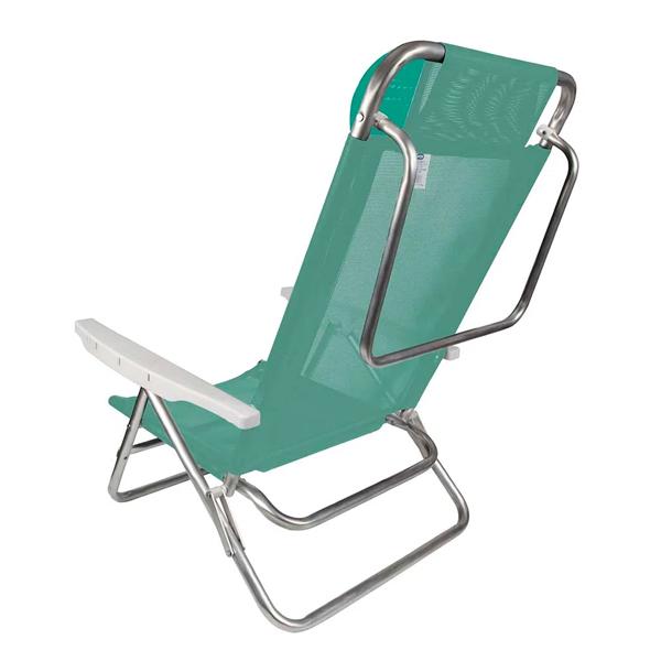 Cadeira Reclinável 8 Posições Alumínio  Anis - MOR