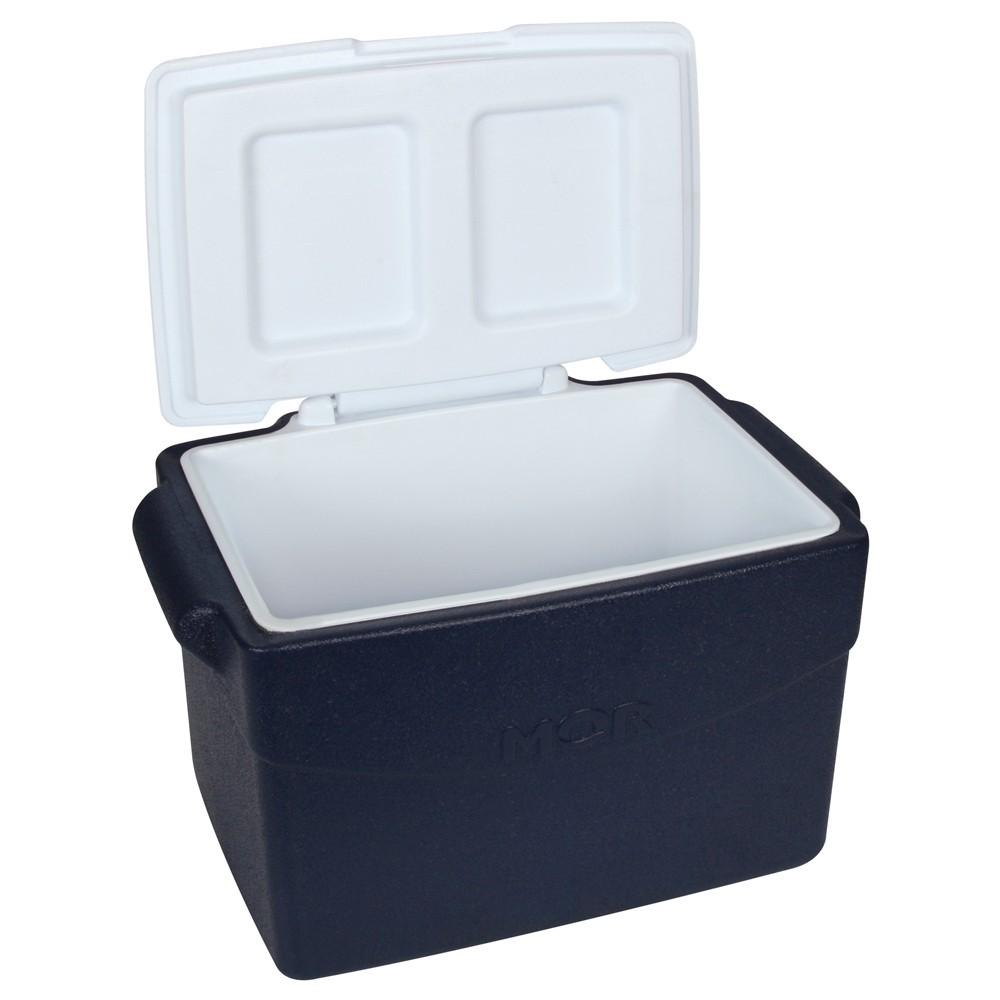 Caixa Térmica Glacial 26 Litros Azul  Mor - Promoção