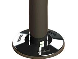 """Canopla em aço inox para escada 2""""  - Sodramar"""