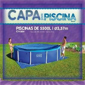Capa para Piscina Circular 5.500 Litros - Mor