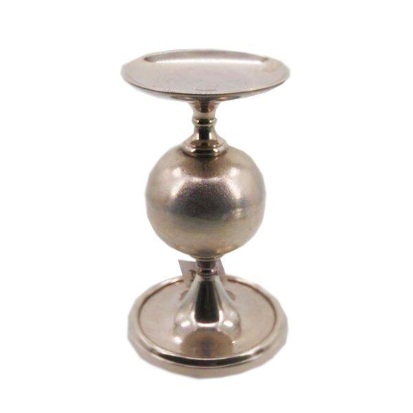 Castiçal, Porta vela Decorativo em Alumínio  33 x 18 - Q1414