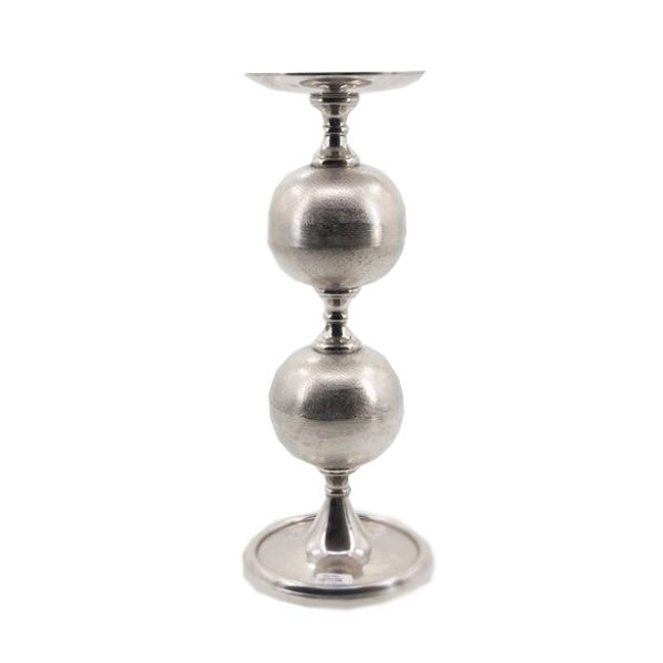 Castiçal, Porta vela Decorativo em Alumínio  58 x 18 - Q1413