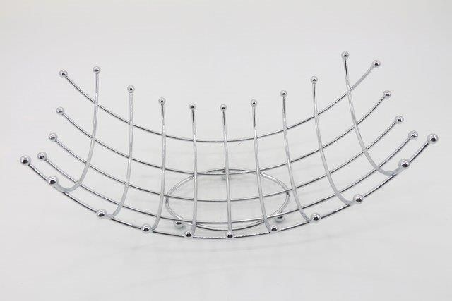 Cesta/ Fruteira de Metal 18 x 25 x 44 - Q1864