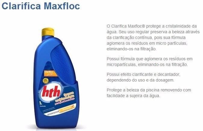 Clarificante Maxfloc Hth 1 Litro