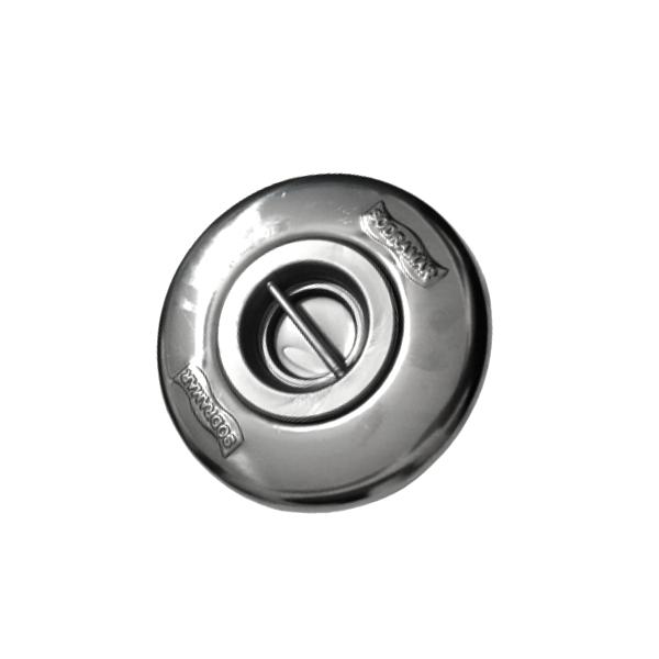 """Dispositivo de Aspiração ABS/Inox Pratic 1 1/2 """"(tubo de 50) Sodramar"""