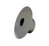 Dispositivo de Retorno Redondo em Aço Inox 60mm Platinum Pooltec