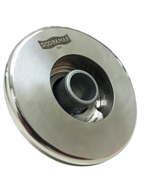 Dispostivo de Retorno Premium flat aço inox 316