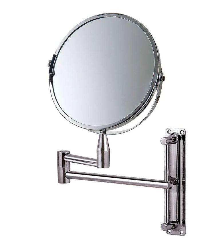 Espelho de Aumento Dupla Face Articulado - Mor