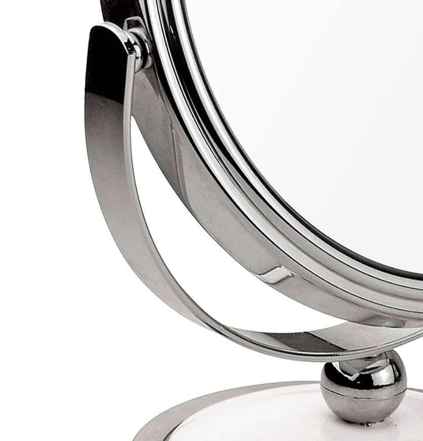 Espelho de Aumento Dupla Face - Mor