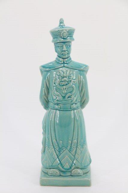 Estatua Guerreiro em Cerâmica 48x15