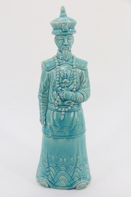 Estatua Guerreiro em Cerâmica FT6502C 48x15