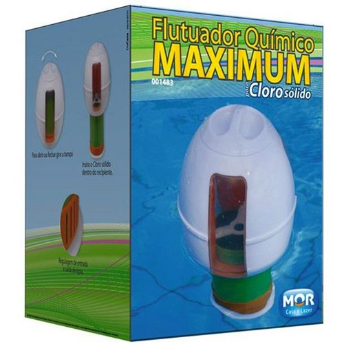 Flutuador Químico Maximum Para Piscina - Mor