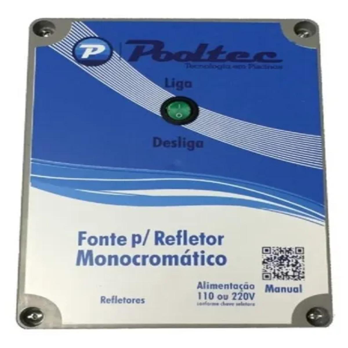 Fonte Eletronica Para iluminação subaquática Modelo P Pooltec