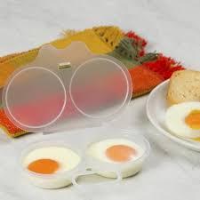 Forma para fazer ovos Poacher no Microondas