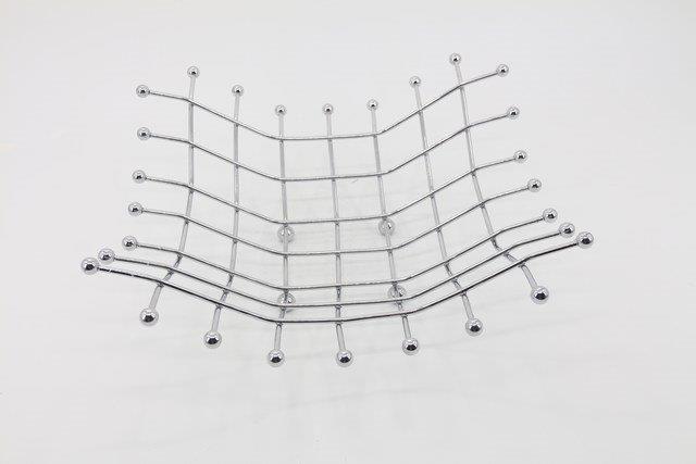 Fruteira de Mesa em Metal 12 x 34 - Q1859