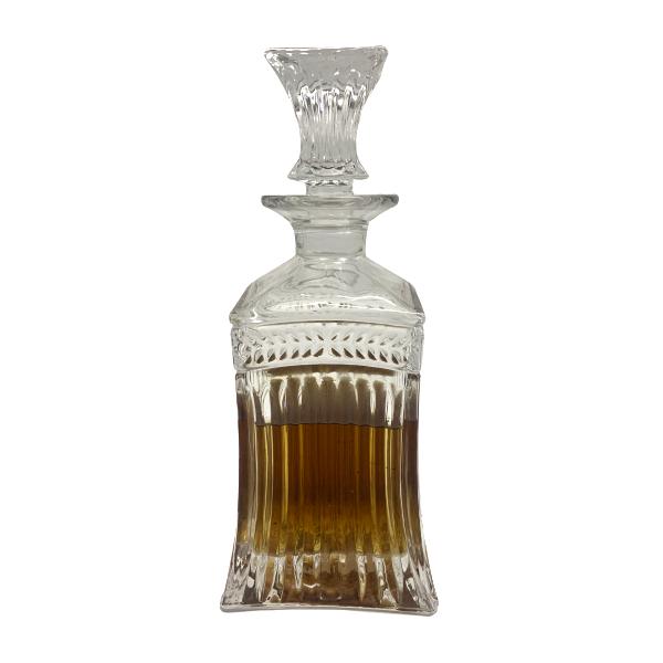 Garrafa whisky ou Licor em Vidro com Tampa