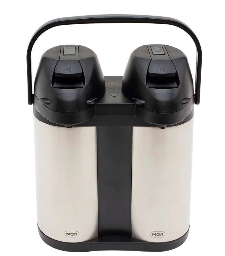 Garrafa Térmica Total Inox Airpot 3,8L Dupla - Mor