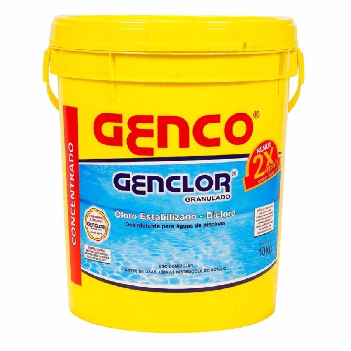 GENCLOR® Cloro Granulado Estabilizado GENCO®