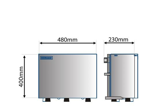 Gerador de Vapor Steam Inox 6kw - Sodramar