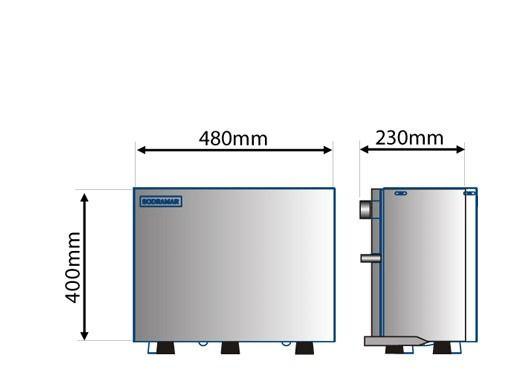 Gerador de Vapor Steam Inox 9kw Universal- Sodramar