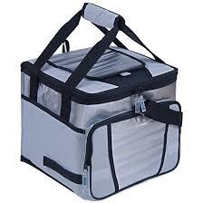 Ice Cooler 24 Litros/ Bolsa Térmica 1 Divisória Cinza - Mor
